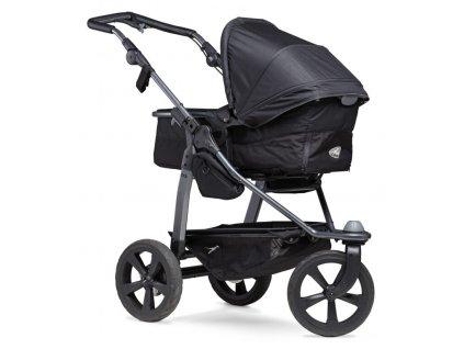 TFK Mono combi pushchair - air chamber wheel black