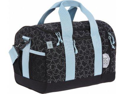 Lässig 4kids Mini Sportsbag Spooky black
