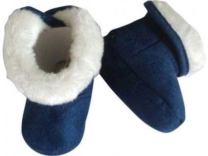 kojenecké capáčky zimní, Pidilidi, PD556, modrá