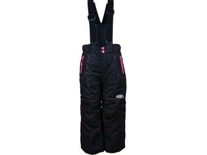 kalhoty zimní lyžařské, Pidilidi, PD1016-10, černá 2021
