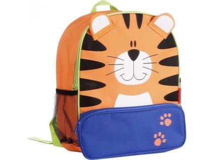 batoh dětský tygr, Pidilidi, 6042, oranžová