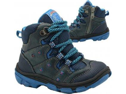 boty dětské zimní, Bugga, B00142-04, modrá
