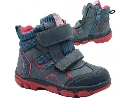 boty dětské zimní, Bugga, B00143-04, modrá