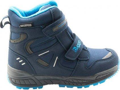 dětské zimní boty, Bugga, B00151-04, modrá