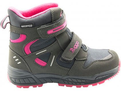 dětské zimní boty, Bugga, B00151-09, šedá