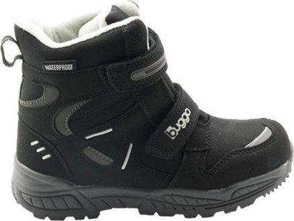 dětské zimní boty, Bugga, B00151-10, černá