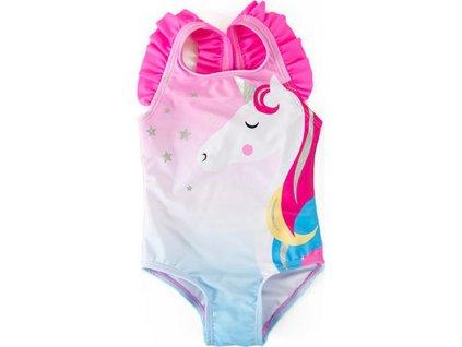 Plavky dívčí jednodílné, Minoti, TG SWIMSUIT 1, holka