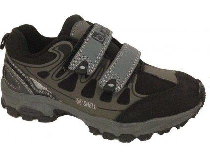 Dětská obuv softshell, Bugga, B119, šedá