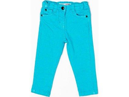 Kalhoty dívčí, Minoti, GLITTER 9, tyrkysová