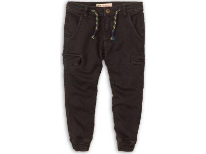 Kalhoty chlapecké kapsové, Minoti, Free 4, černá