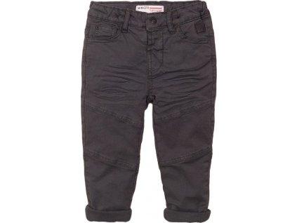 Kalhoty chlapecké podšité bavlnou, Minoti, 3BWLINPANT 2, šedá