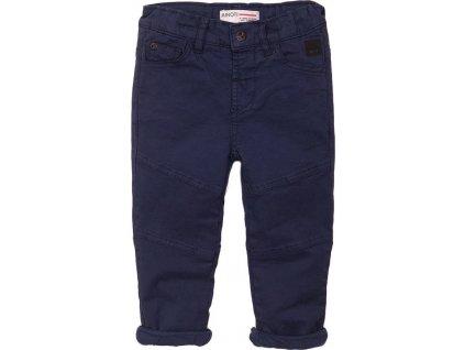 Kalhoty chlapecké podšité bavlnou, Minoti, 3BWLINPANT 6, modrá