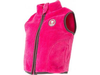 vesta kojenecká chlupatá, Pidilidi, PD1066, růžová