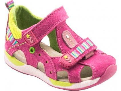 dětské sandály, Bugga, B00152-03, růžová