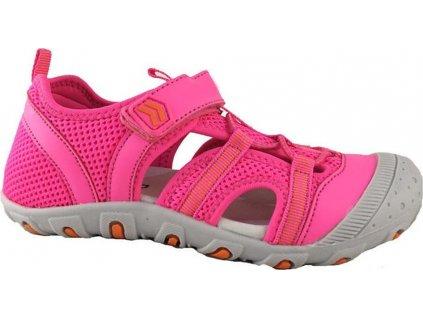 sandály sportovní OUTDOOR, Bugga, B00157-03, růžová