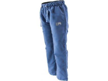 kalhoty sportovní chlapecké podšité fleezem outdoorové, Pidilidi, PD1075-04, modrá