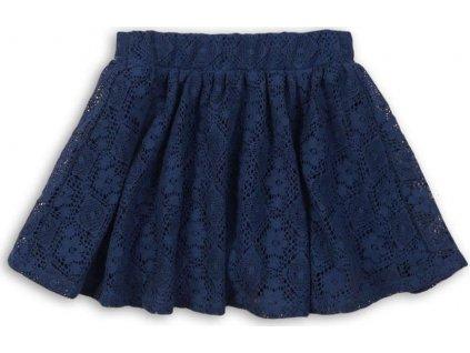 Sukně dívčí krajková, Minoti, FRENCH 6, modrá