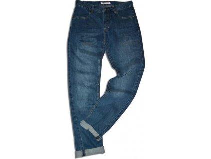kalhoty riflové, Minoti, INDUSTRY 7, modrá