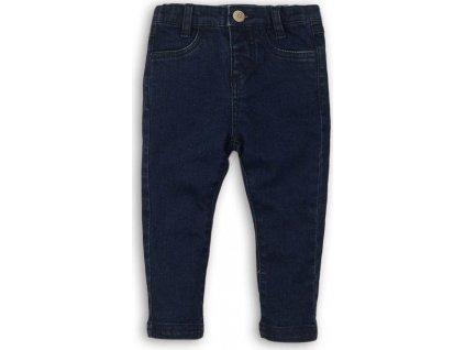 Kalhoty dívčí džínové elastické, Minoti, GANG 15, modrá