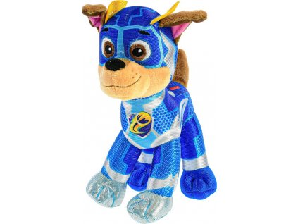 Paw Patrol Super Mighty Pups plyšový Chase 27cm, Mikro Trading, W011559
