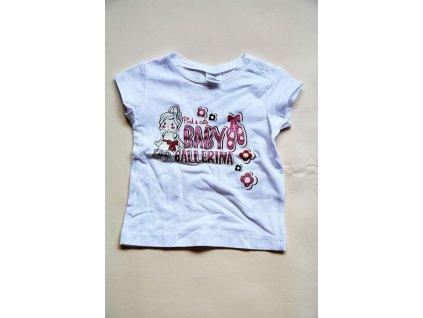 tričko s krátkým rukávem, Wendee, OZ102408-0, bílá