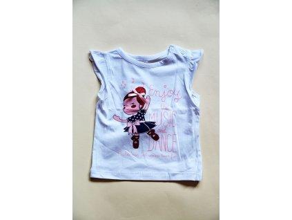 tričko s krátkým rukávem, Wendee, OZ102409-0, bílá