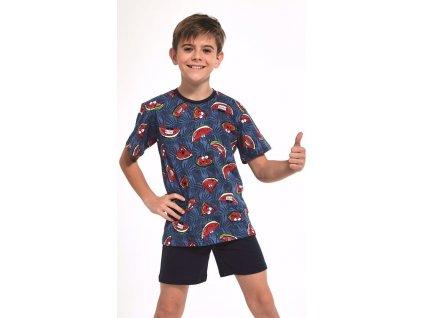 Chlapecké pyžamo Cornette krátký rukáv 334