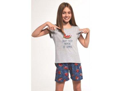 Dívčí pyžamo Cornette krátký rukáv 360