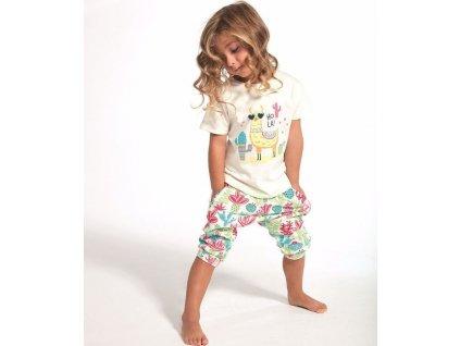 Dívčí pyžamo Cornette 3/4  479