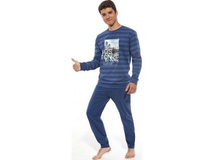 Chlapecké pyžamo Cornette dlouhý rukáv 989