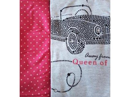 Dívčí pyžamo Cornette dlouhý rukáv 552