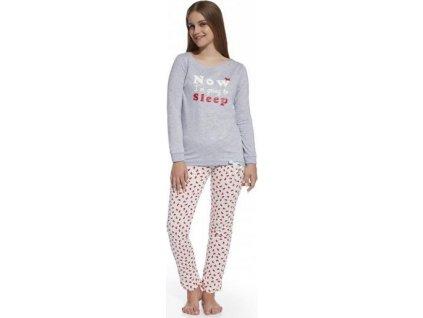 Dívčí pyžamo Cornette dlouhý rukáv 290