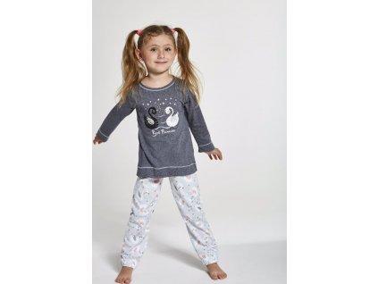 Dívčí pyžamo Cornette dlouhý rukáv 380