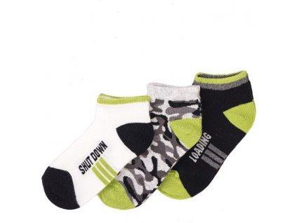 Ponožky kotníkové, Minoti, KB SOCK 38, kluk