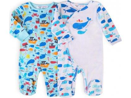 Oveal kojenecký 2pack, Minoti, Ship 9, kluk