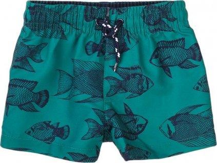 Plavky chlapecké, Minoti, TB BOARD 20, zelená