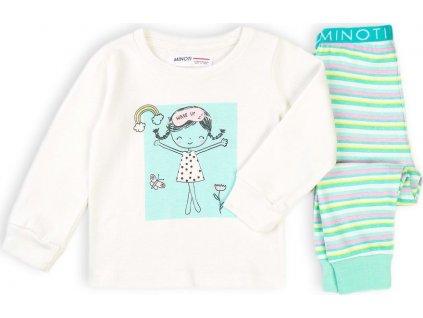 Pyžamo dívčí dlouhé, Minoti, TG PYJ 3, holka