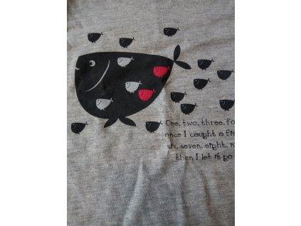 Dívčí košilka Cornette dlouhý rukáv mix 86-128