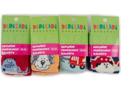 punčochy 4pack, kluk, Pidilidi, PD368-02