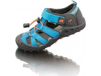 dětské sportovní sandály LALA, Bugga, B00164-04, modrá
