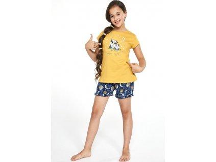 Dívčí pyžamo Cornette krátký rukáv 489