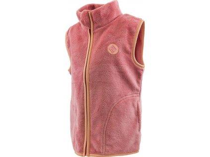 vesta dívčí chlupatá, Pidilidi, PD1094, růžová