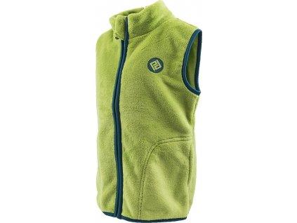 vesta dívčí chlupatá, Pidilidi, PD1094, zelená