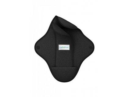 LadyPad Látková vložka s vkládací vložkou (S) - černá - z bambusu a bio bavlny