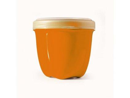 Preserve Svačinový box (240 ml) - oranžový - ze 100% recyklovaného plastu
