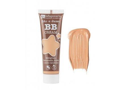 "laSaponaria BB krém ""Jako sen"" BIO - pískový (30 ml) - lehké krytí s matným finišem"