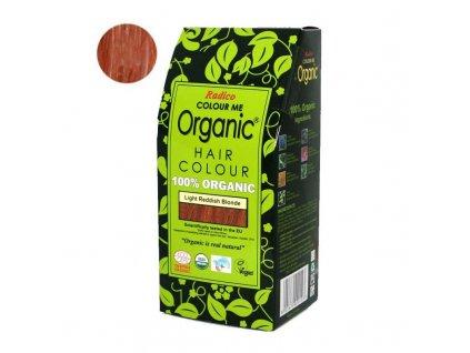 Radico Přírodní barva na vlasy BIO (100 g) - světle načervenalá blond