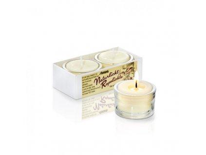 Stuwa Sada malých svíček ve skle (2 ks x 28 g) - bez vůně - bez parfemace, pro citlivé nosy