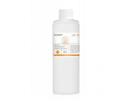 Ecoheart Hygienický sprej na ruce se skořicí a hřebíčkem - náplň (500 ml)