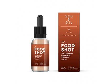 You & Oil FOOD SHOT Energie a antioxidanty - s kofeinem (30 ml)